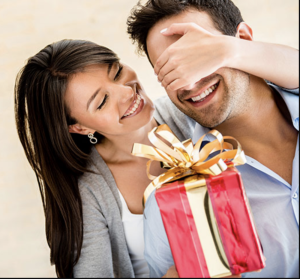surprise your spouse with a gift