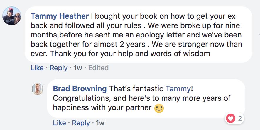 Tammy testimonial